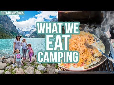 CAMP WITH US! 🌲 What We Eat Camping
