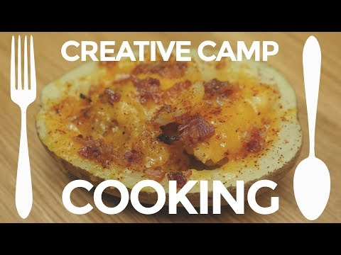 Creative Camp Cooking: Stuffed Potato   Backpacking Trail Meals