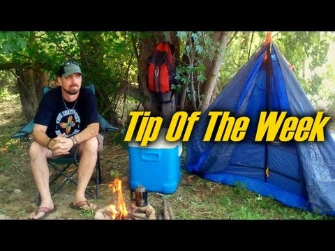 """5 Cool Camping Tips & Tricks – """"Tip Of The Week"""" (E21)"""