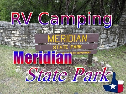 RV Camping At Meridian State Park, A Visit In The Rain