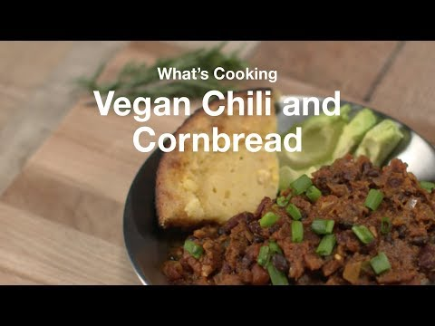 What's Cooking: Camp Edition | Vegan Chili and Cornbread