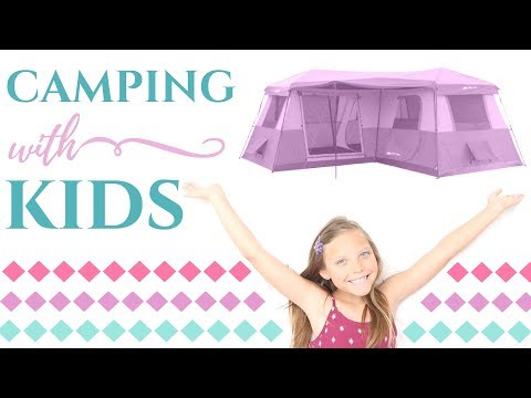 CAMPING WITH KIDS | PACK WITH ME