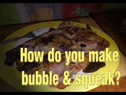 How to make bubble & squeak Recipe  – Boxing day Camp