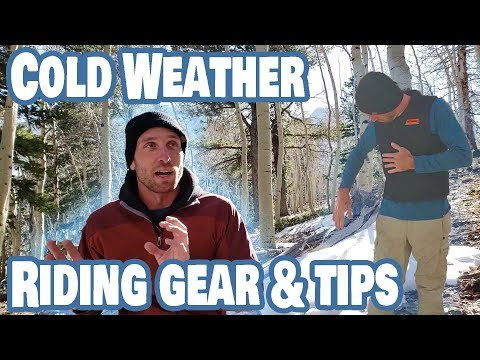 Cold Weather Motorcycle Gear and Riding Tips