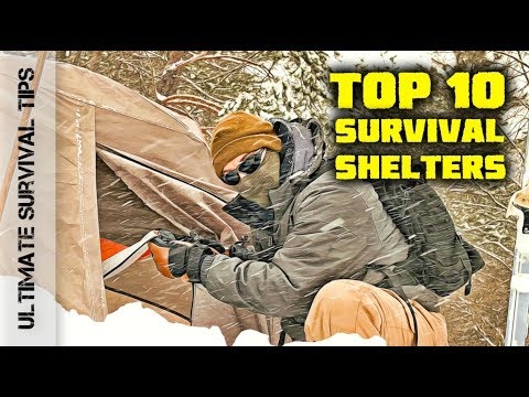 Top 10 – Camping / Emergency / Bug Out Shelters + 3 Best Budget Tents