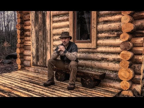 Build a Log Cabin: Front Porch, Self Reliance and Survival, Generation Z