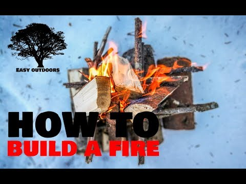 How to Build a Fire? / Kuidas teha lõket? – Outdoors Camping Tips