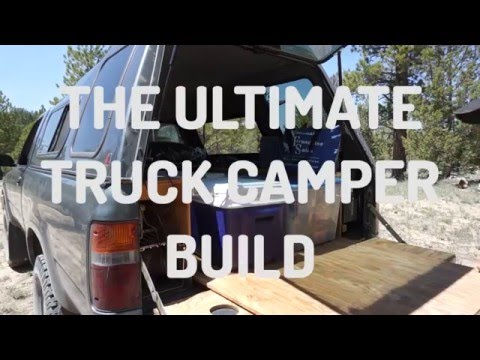 The Ultimate DIY Truck Bed Camper Build for Camping and Living in Your Truck