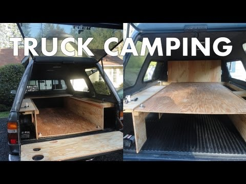 Pickup Truck Camping: Outfitting a Truck Canopy for Camping and Living in a Truck