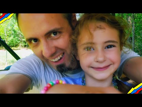 CAMPING WITH KIDS – Family Camping in a Cabin in the Woods // Vlog #2: Pitkin, Louisiana