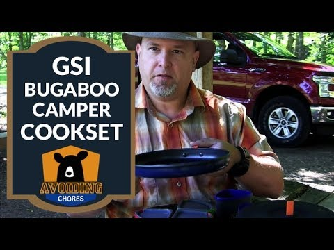 GSI Bugaboo Camper Cookset Review Family Car Camping