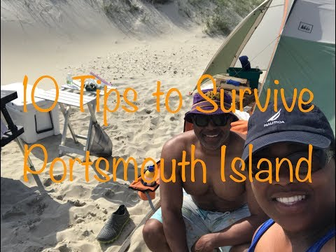 Ep. 24 10 Tips to Survive Portsmouth Island Camping