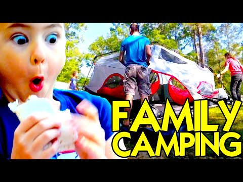 Family Camping – Kids Camping – Chicot State Park: Louisiana State Parks – Things To Do in Louisiana