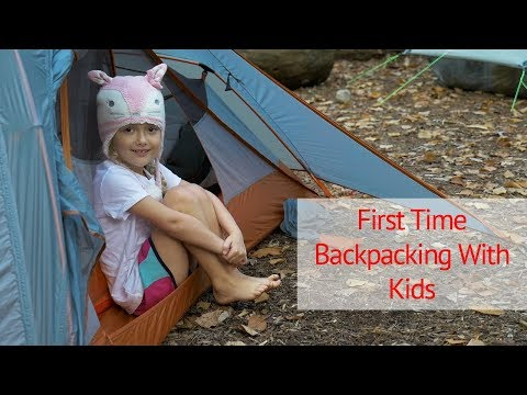 Backpacking/Camping With Your Kids for the First Time