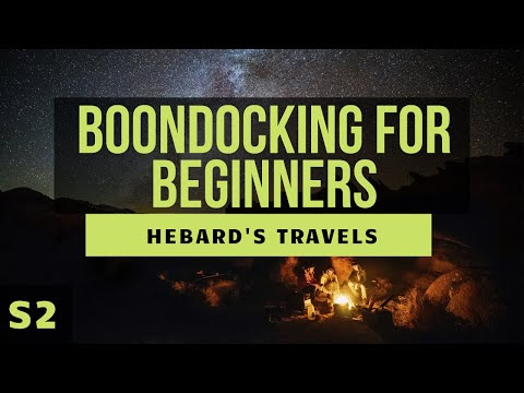 RV Nomad Life   Boondocking (Drycamping) For Beginners: What We Wish We Had Known