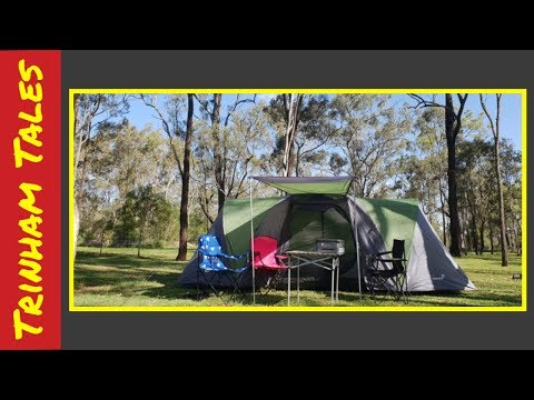 Camping With Two Kids #016    Trinham Tales