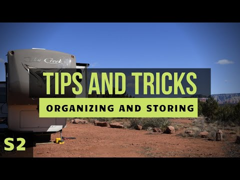 RV Nomad Life | Cheap Tricks To Storing and Organizing Items in an RV