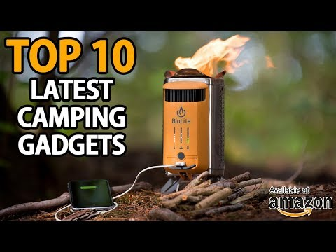 TOP 10 Latest Camping Gadgets For 2019 | Camping Gear | My Deal Buddy
