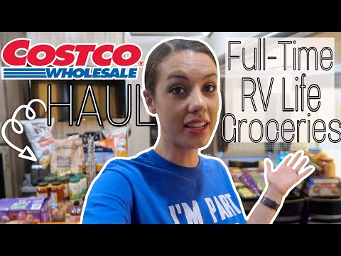 $500 Costco Haul (FULL-TIME RV Family of 6)