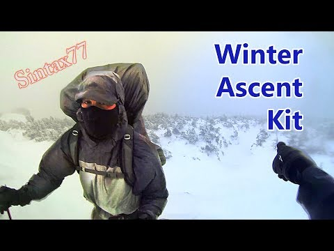 Winter Ascent Kit – Tips & Gear for a Mt Washington Winter Climb | Severe Weather Hiking