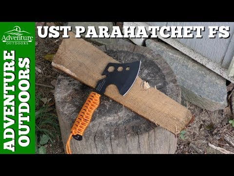 Camping Gear ~ Camping Hatchet ~ UST Parahatchet FS Review