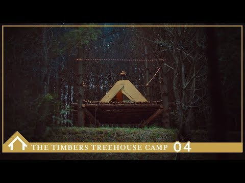 The Timbers Treehouse Camp // 04// Foraging, Tentipi Camping & Best Ribs Ever!!!