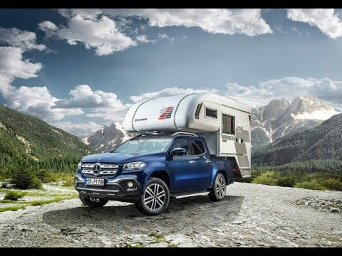 Camping with the new Mercedes X Class