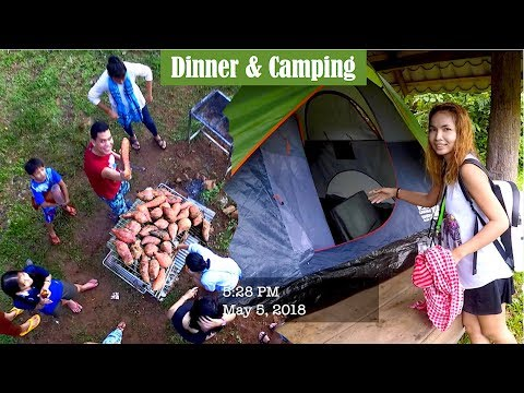 Tent Camping, Dinner, Fun Game, Dance at Ou Choam Community Based Ecotourism
