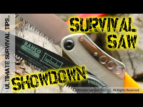 6 BEST Survival / Bushcraft Saws for Bug Out, Camping: Silky, Bahco, Leatherman, Sven, Bob Dustrude