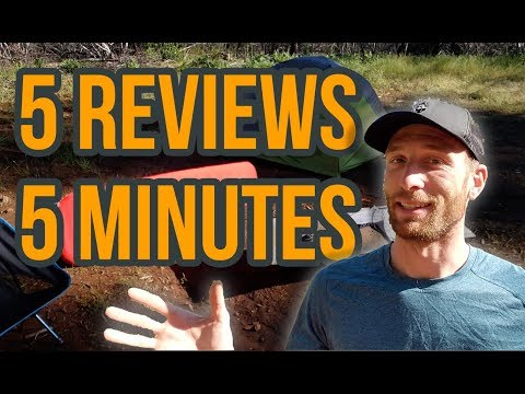 5 Long Term Gear Reviews in 5 Minutes   Motorcycle Camping