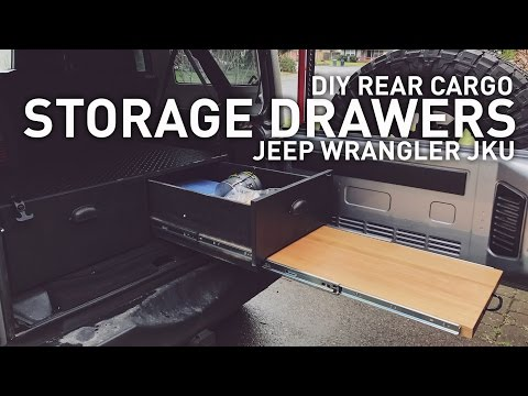 DIY Drawer System for Jeep Wrangler, Camping, Overlanding