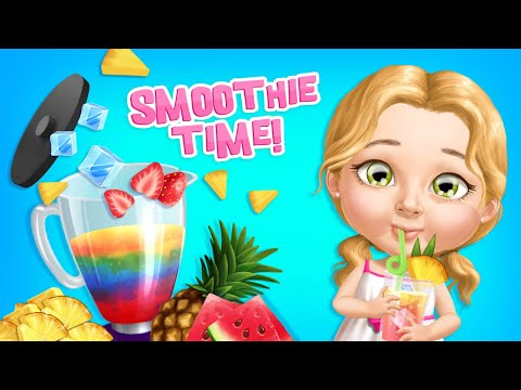 Make Lemonade & S'Mores! Cooking! Sweet Baby Girl Summer Camp | TutoTOONS Cartoons & Games for Kids