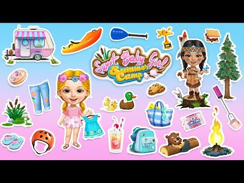 Sweet Baby Girl Summer Camp – Holiday Fun for Kids | TutoTOONS Cartoons & Games for Kids
