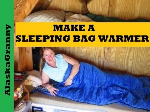 Make a Sleeping Bag Warmer- Camping Hunting DIY Projects Tips Tricks Hacks