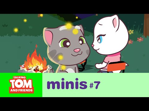 Talking Tom and Friends Minis – Camping Trip (Episode 7)