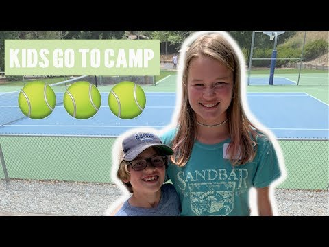The Kids Go Off to Summer Camp!