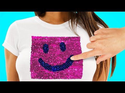 21 SIMPLE T-SHIRT DECOR IDEAS