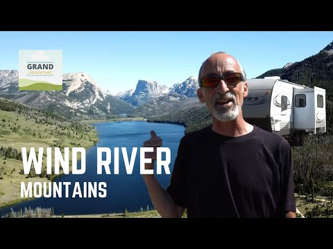 Ep. 108: Wind River Mountains | Green River Lakes Wyoming RV travel camping