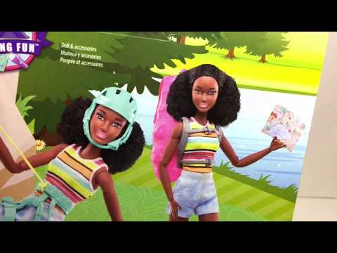 FUN CAMPING MADE TO MOVE BARBIE RARE DOLL! . -DOLL REVIEW-