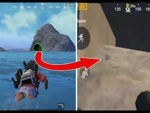 Top 10 Secret Hidden Locations in PUBG Mobile YOU NEVER KNEW!