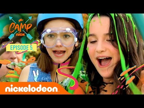 ANNIE LEBLANC GETS SLIMED at Camp Nick! 💚 ft. Jayden Bartels & More! | Nick