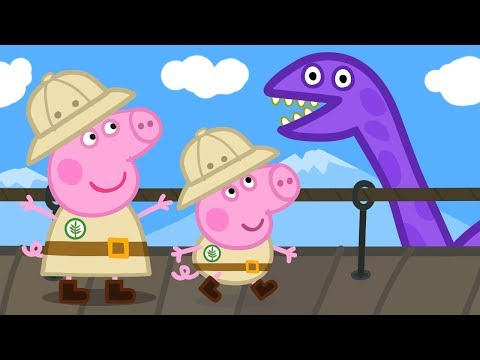 Peppa Pig Official Channel | Peppa Pig and George Pig's Dino Adventures!
