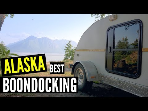 Our FREE Alaska Boondocking campsite Went from BEST to WORST in seconds!