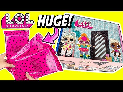 LOL Surprise Dolls Subscription Box!  1st Ever LOL Dolls Box!  – LOL Doll Video Toy Review