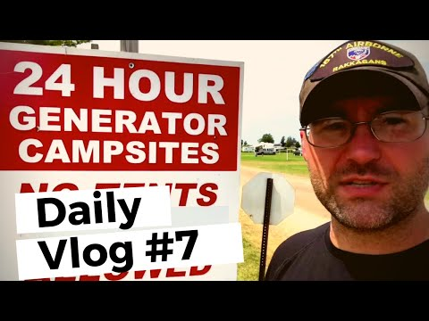 Camp Scholler Review and RV Camping | EAA AirVenture 2019 | RVLife Daily Vlog #7