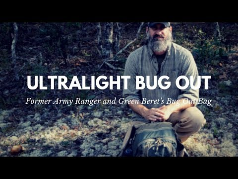 Green Beret's Ultralight Bug Out Bag with Gear Recommendations
