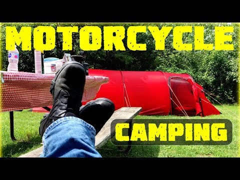 Solo Motorcycle Summer Camping – Bong State Park