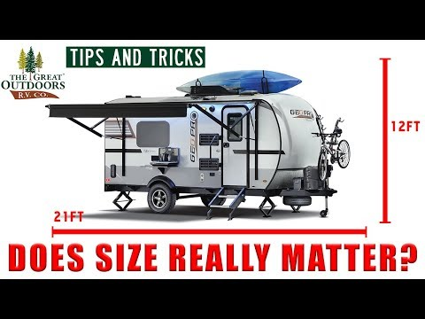 RV Camper Tips and Tricks Length Height Width Campground National Park Restrictions