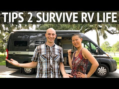Top 12 Tips to Survive RV Living & Van Life