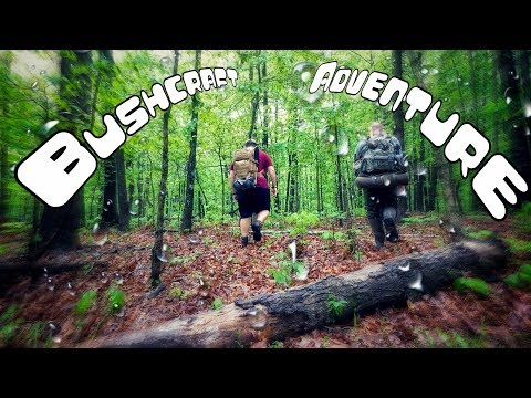 3 Day Bushcraft Camp in a Summer Storm – The Movie